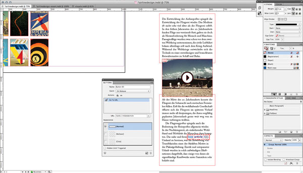 iPad tips which help create interactive scrollable frames 2