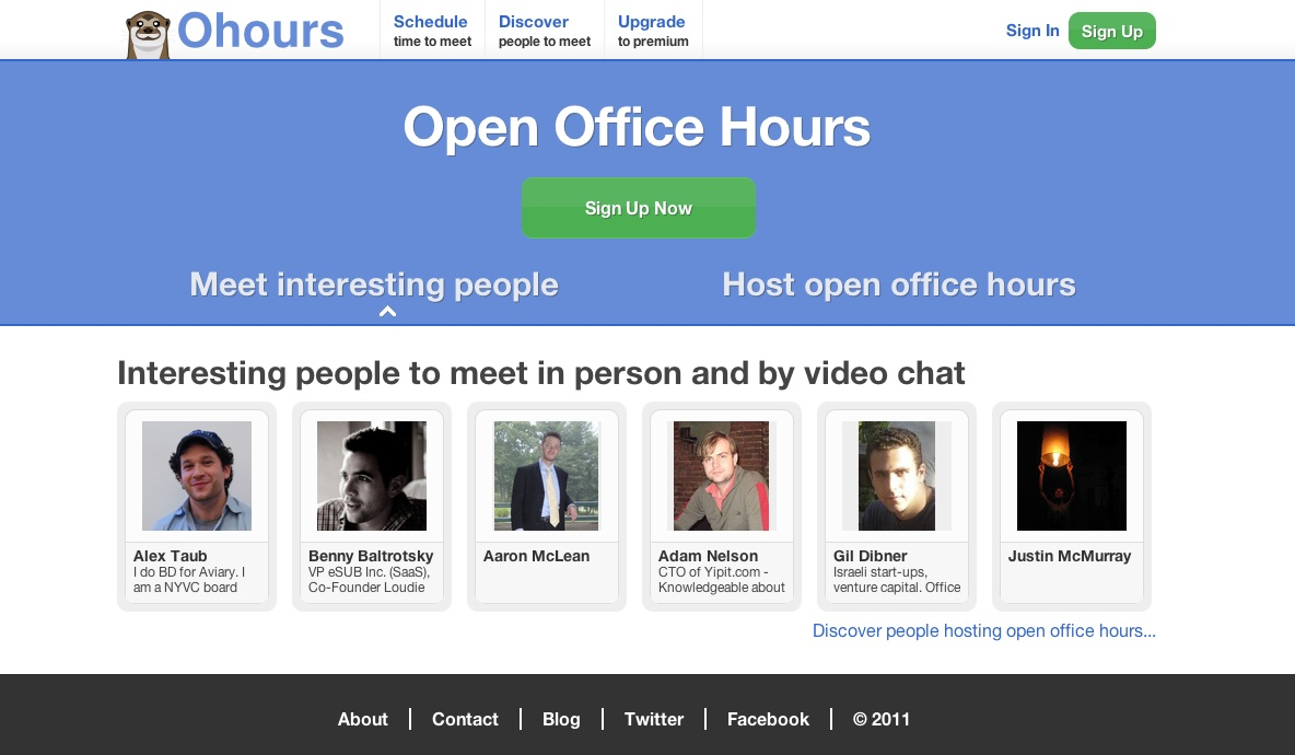 Open Office Hours is a new trend looking to connect students and experts