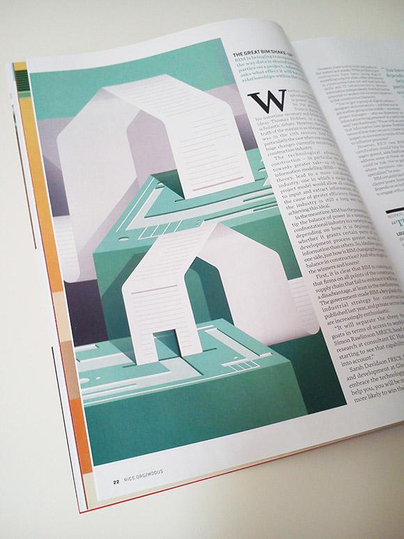 MODUS magazine illustrations