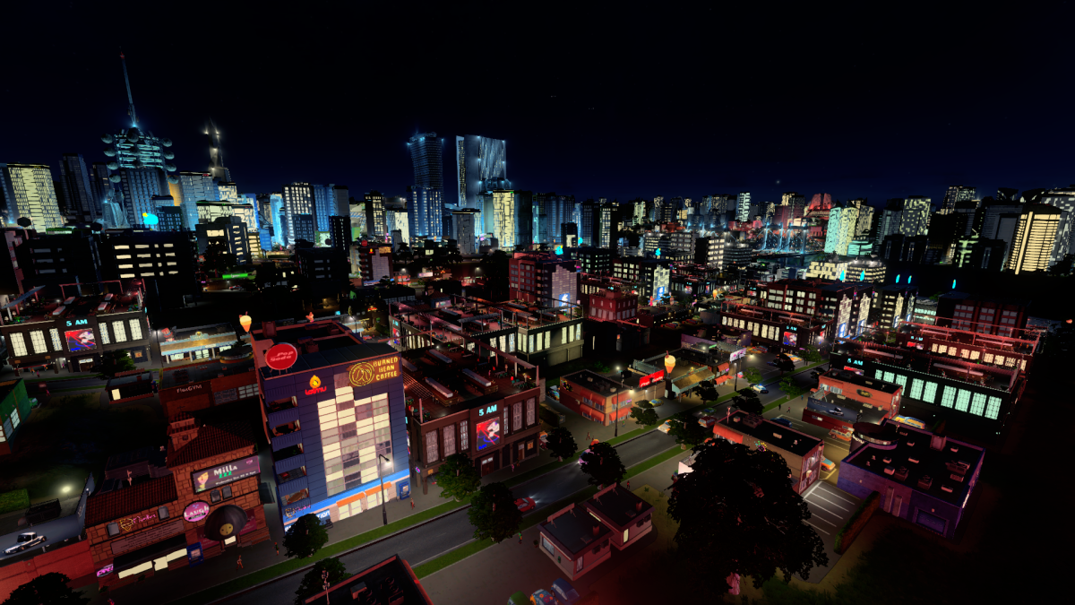 Cities Skylines After Dark New Buildings
