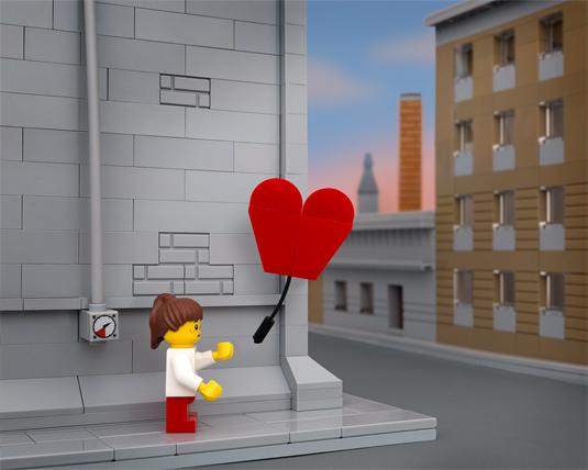Banksy lego