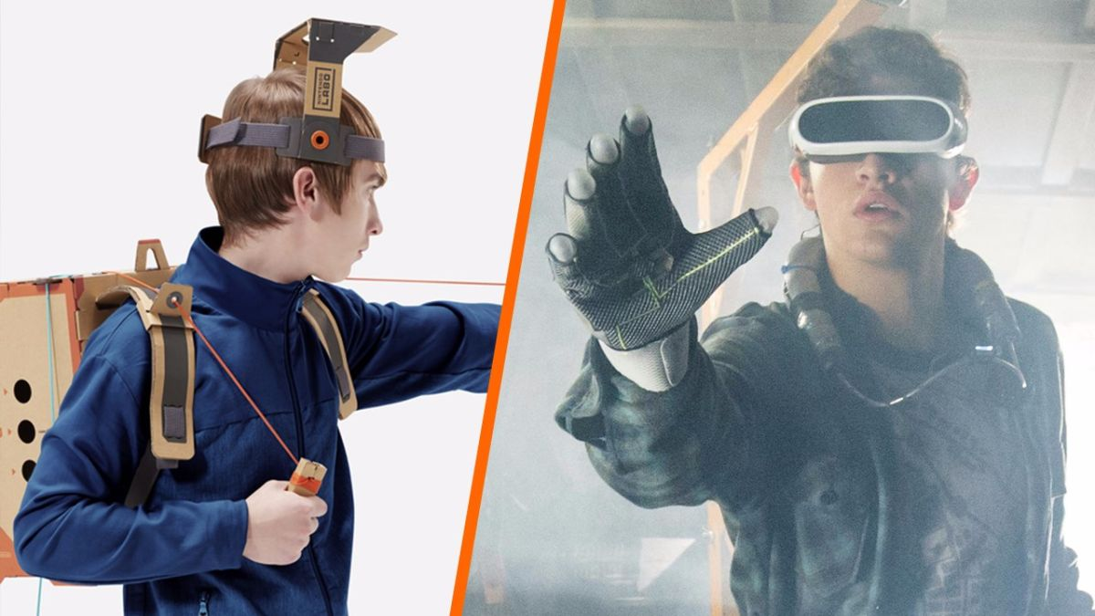 We mashed up Nintendo Labo with the Ready Player One trailer and it works eerily well