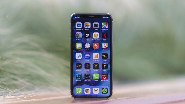 iPhone display screen
