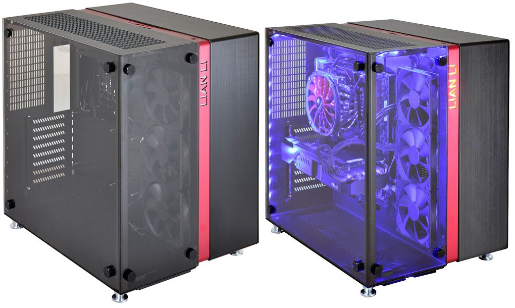 Lian Li S Pc 09 Squishes Two Cases Into One Pc Gamer