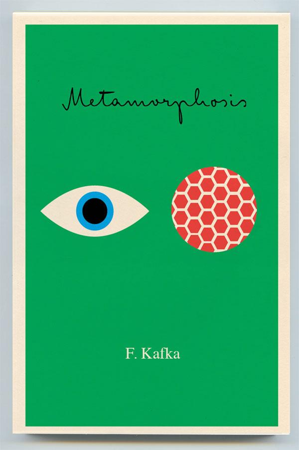 Geometric art in book design