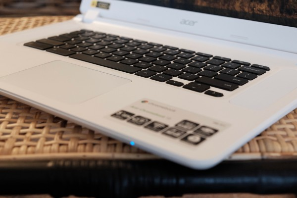 Acer Chromebook 15 Keyboard Right