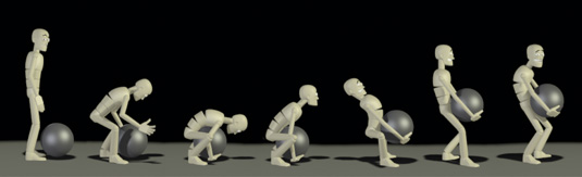 Character animation in 3ds Max