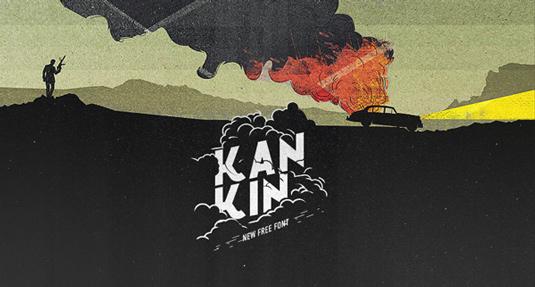 Free font: Kankin