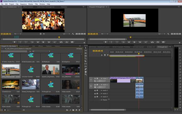 Adobe Premiere Pro CS6: JKL-Editing-in-Project-Panel