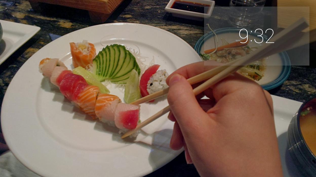 Google Glass food