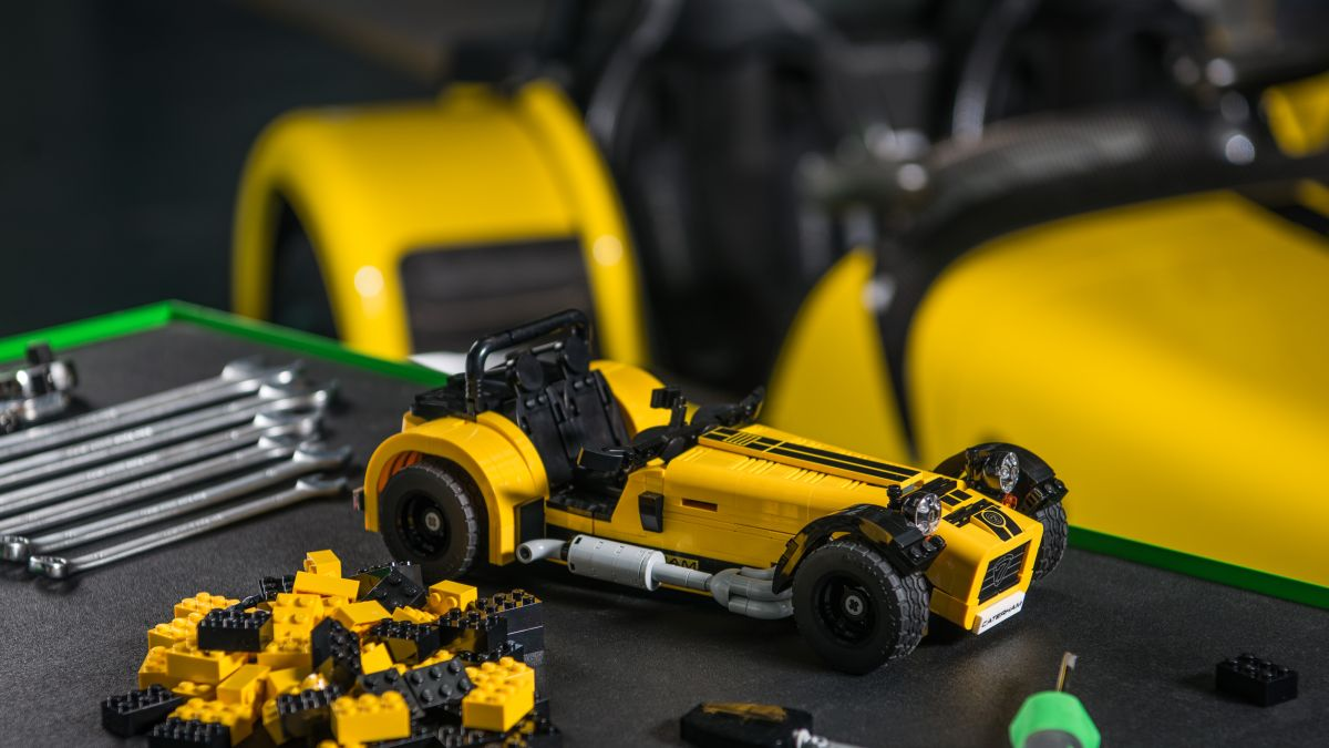 these photos of the lego caterham seven will make you feel 10 again techradar. Black Bedroom Furniture Sets. Home Design Ideas