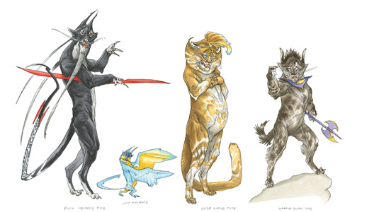 Principles of Creature Design Review: Cat People