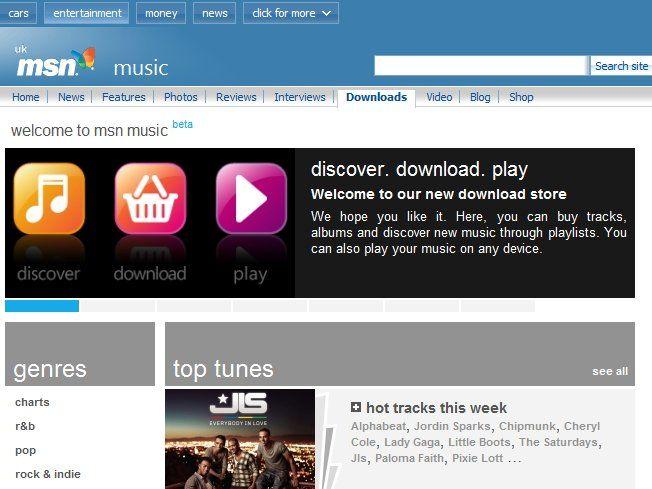 microsoft launches msn music download service techradar
