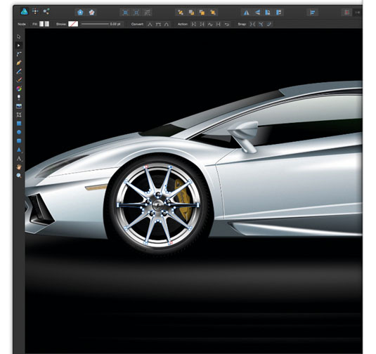 If you're looking for a less expensive alternative to Photoshop for more graphic design purposes, give Affinity Designer a try