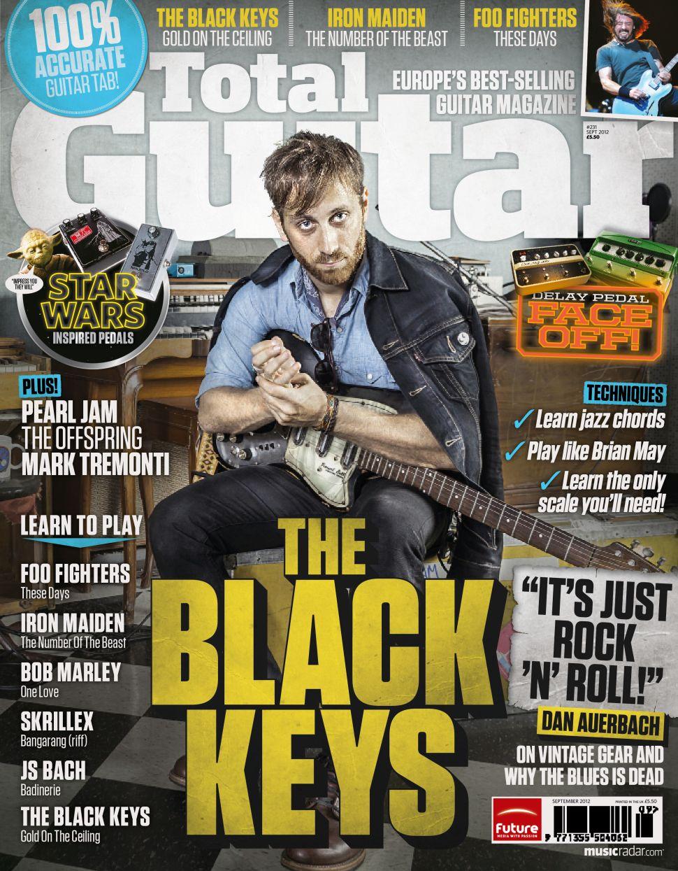 Definitely not the old, grimy black keys