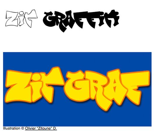 Graffiti font Zit Graffiti