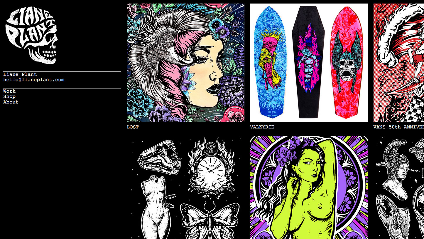 Inspiring design portfolios: Liane Plant