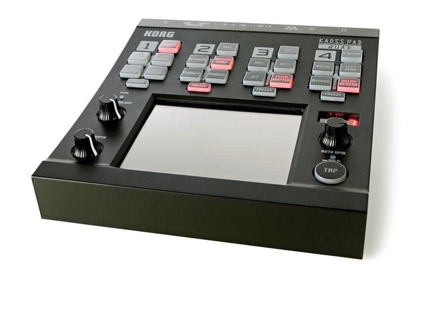 korg kaoss pad quad review musicradar. Black Bedroom Furniture Sets. Home Design Ideas