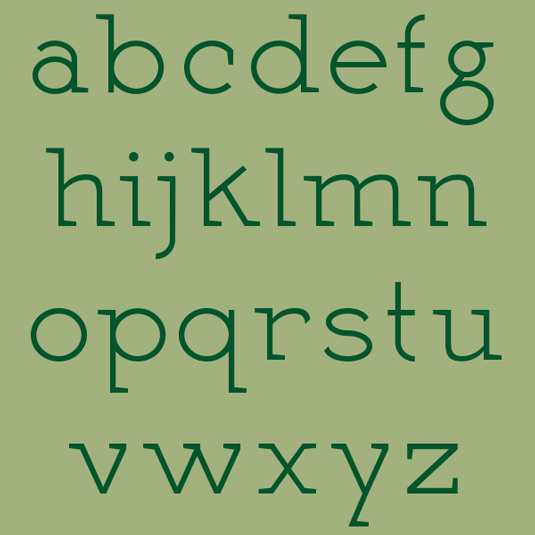 Free fonts: Martell
