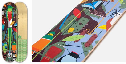 Skateboard designs: Monteverde