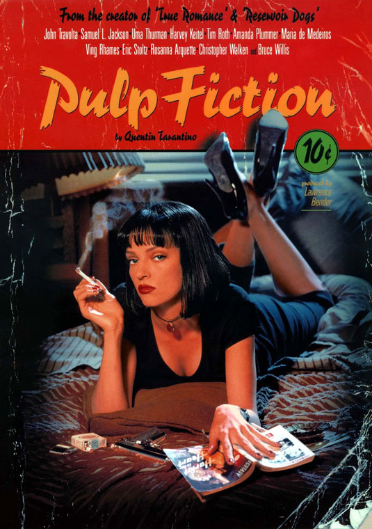 Movie posters: Pulp Fiction