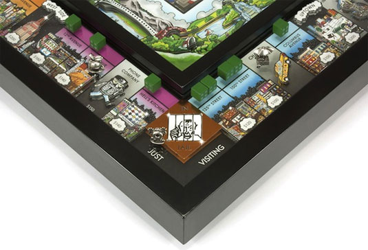 pop-up 3D monopoly