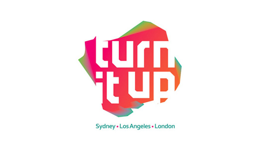 Logotype: Turn It Up