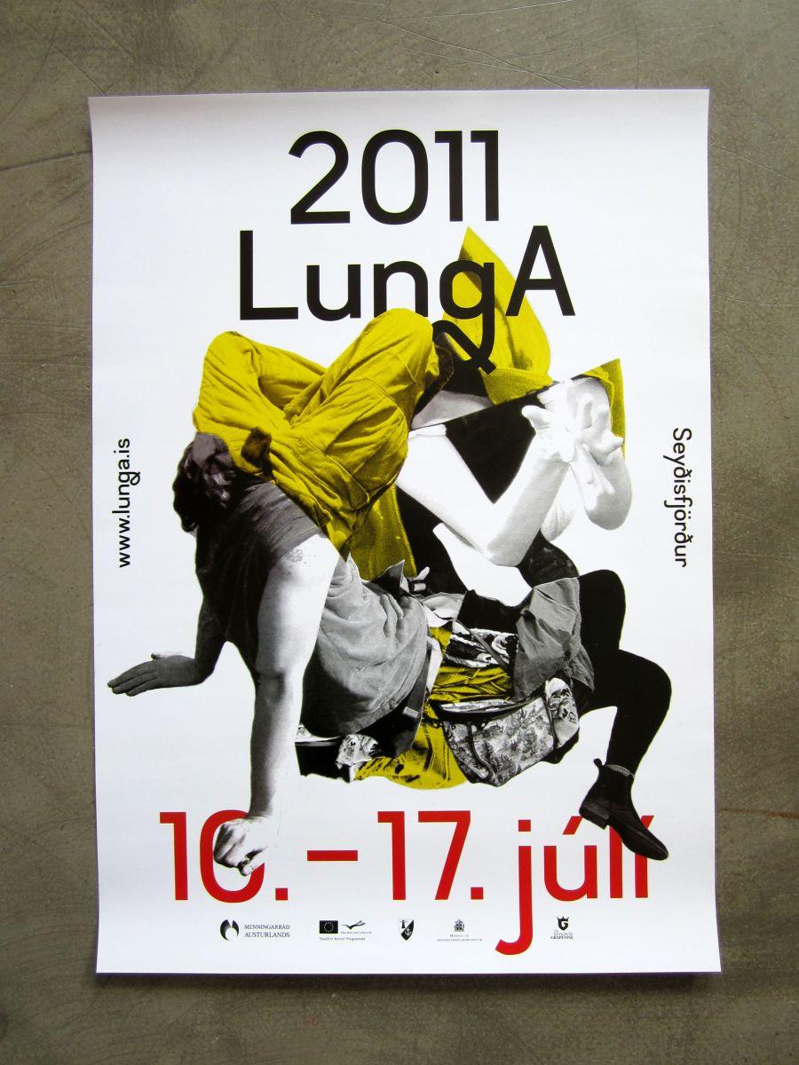 Gudmundur Ulfarsson Lunga poster 2011