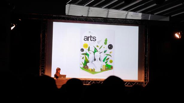 Computer Arts starring in Jessica Walsh's brilliant evening talk
