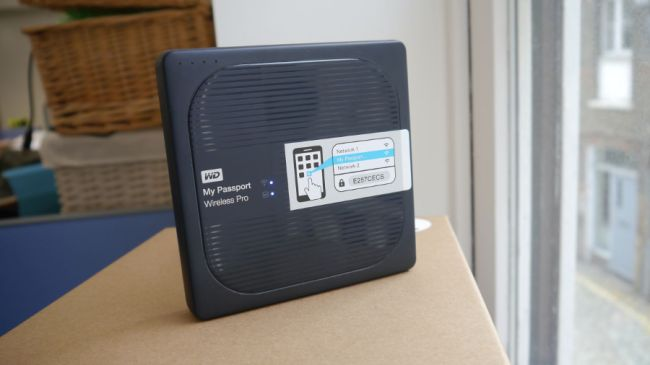 The Western Digital My Passport Wireless Pro