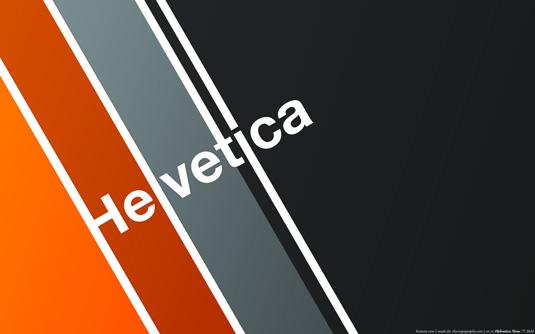 Typography wallpapers: Helvetica