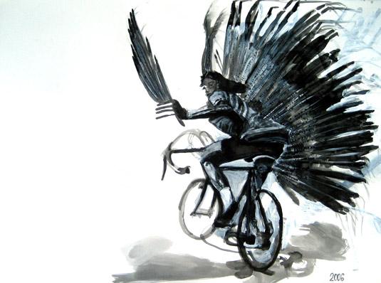 Bike art: Terri Saul