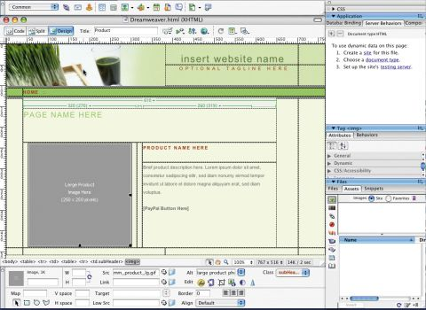 free professional dreamweaver templates - macromedia dreamweaver 8 review techradar