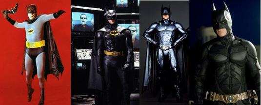 The Dark Knight Rise: previous Batman movies
