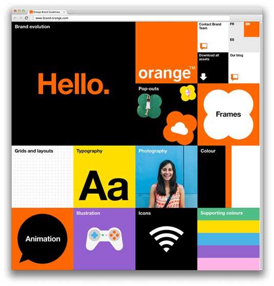 Branding for Orange