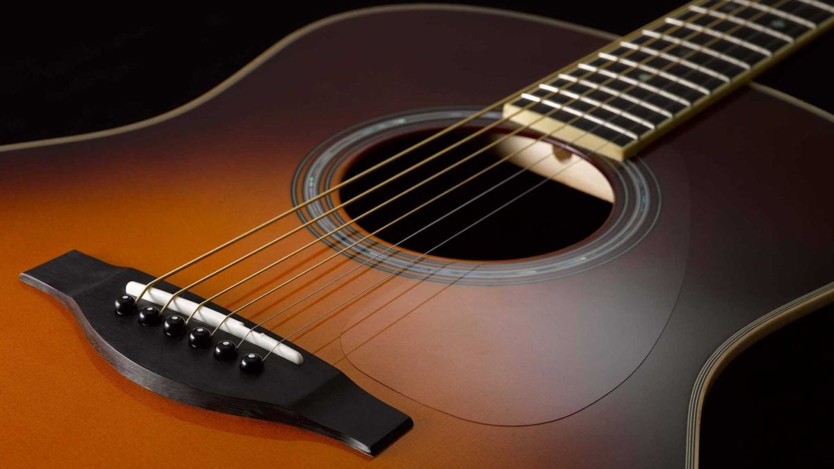 Yamaha acoustic guitar wallpaper