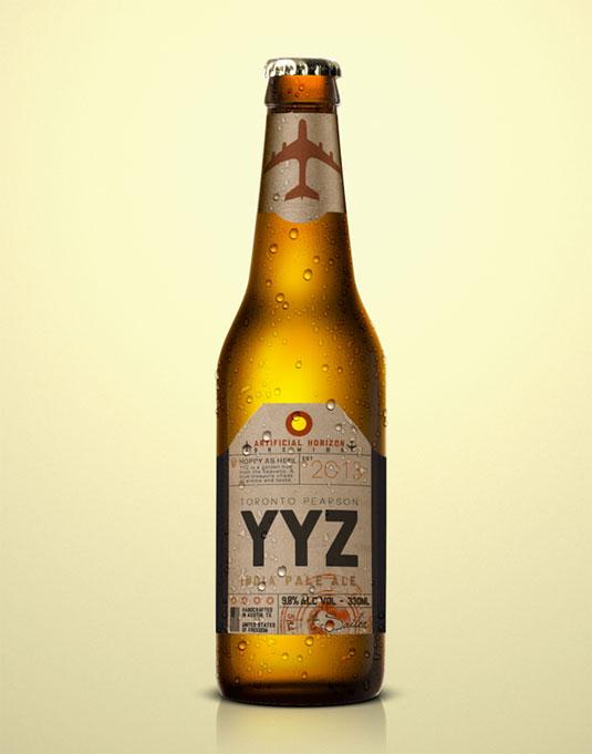 Beer flight labels
