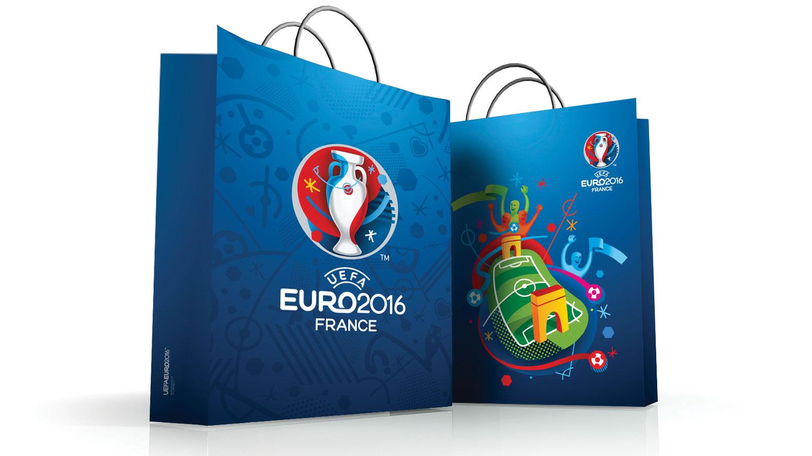 Euro 2016 branding