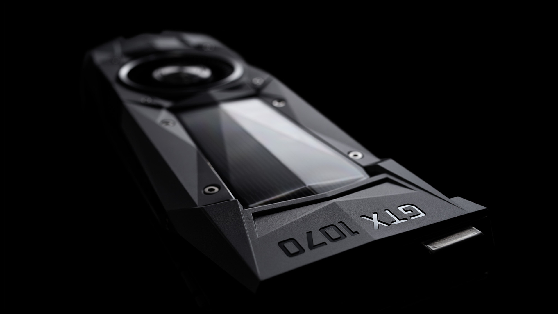 The Nvidia GeForce GTX 1070 graphics card