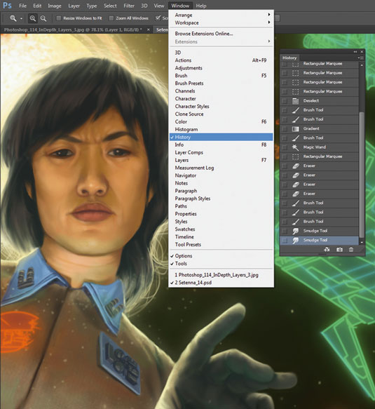 the beginners guide to photoshop - history states