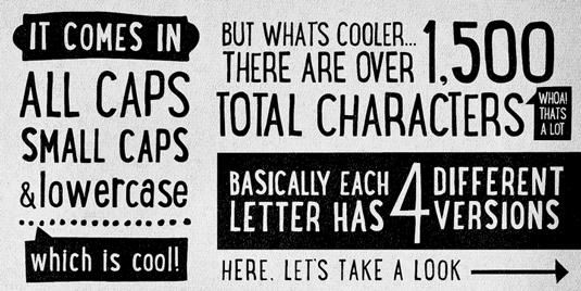 Lunchbox handwriting font