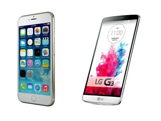lg g3 specs vs iphone 6