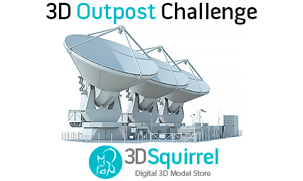 Promo image for 3D Outpost challenge