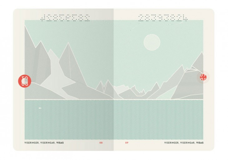 Norway passport designs