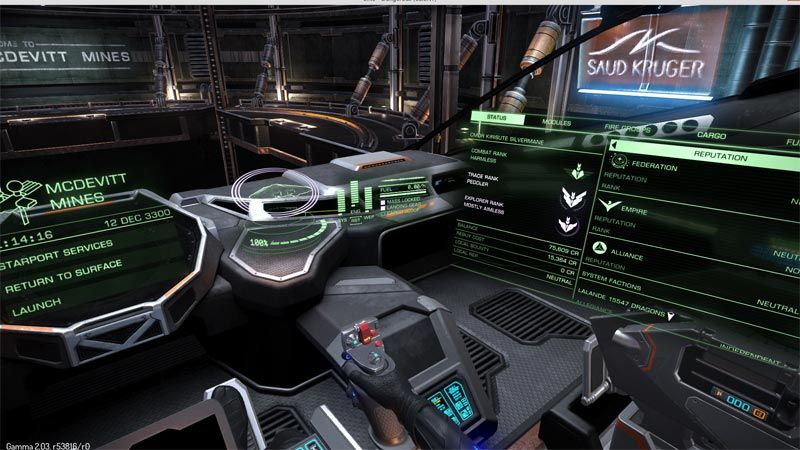 Elite Dangerous Ship Hud Colour Tweak Pc Gamer