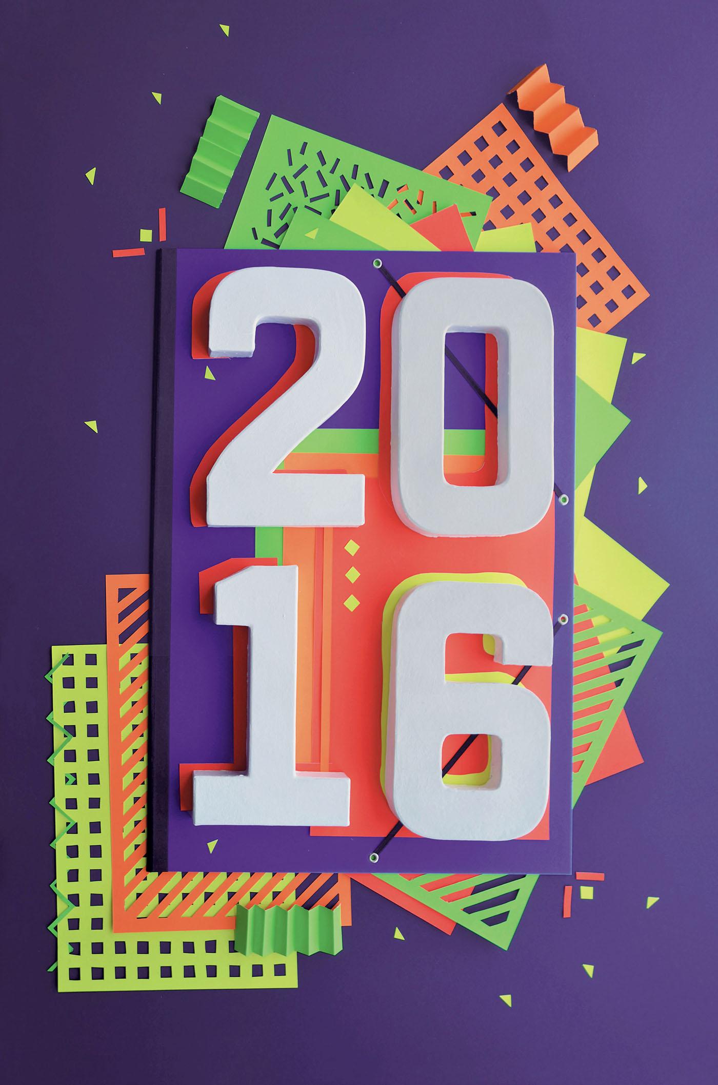 2016 greeting card