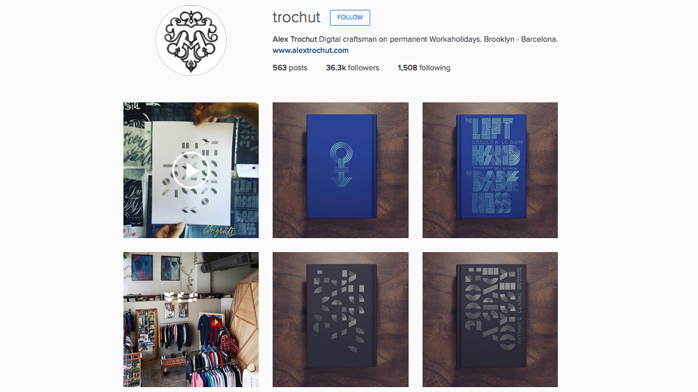 Graphic designers to follow on Instagram: Alex Trochut