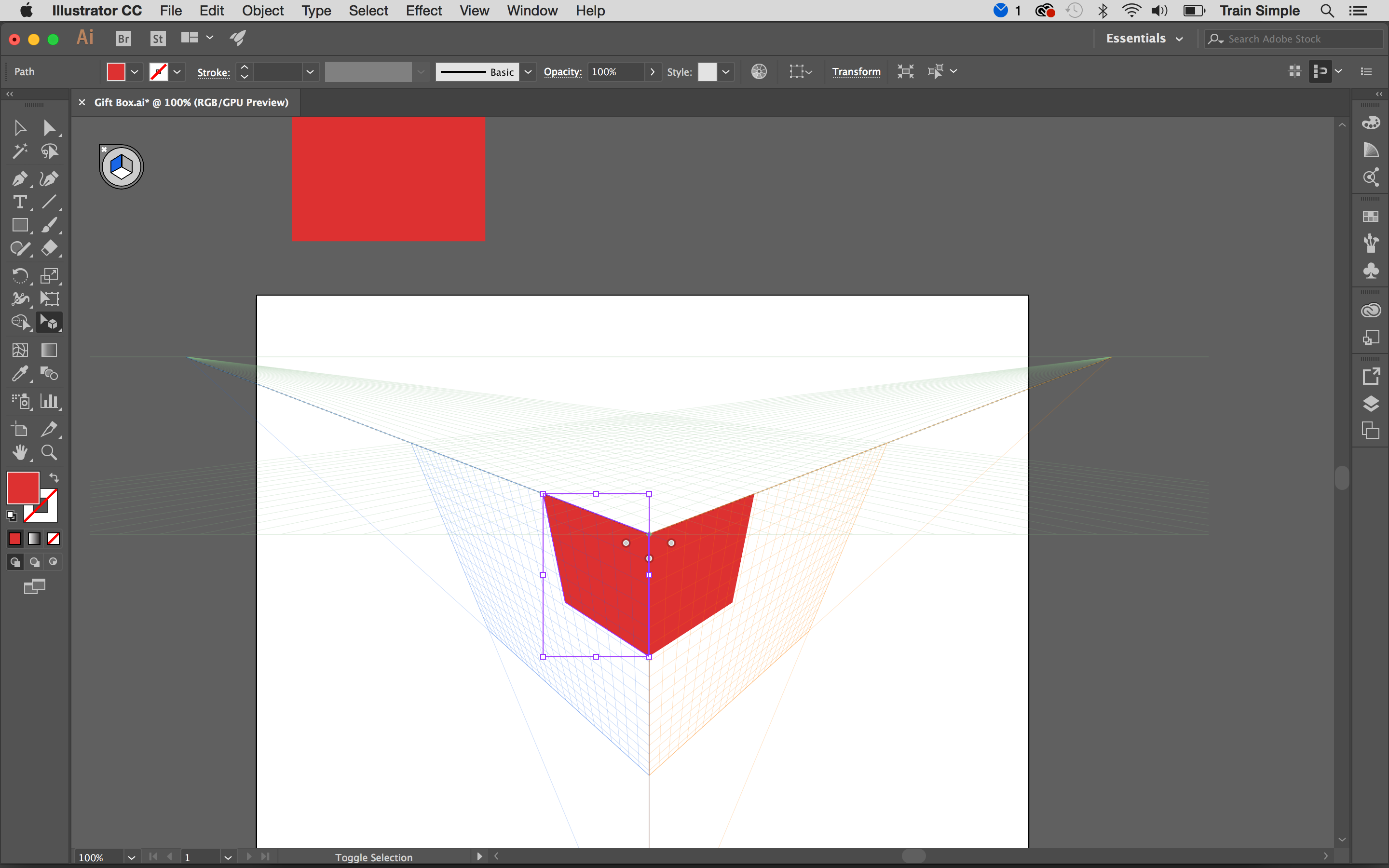 How To Draw Your Art In Perspective Using Adobe Illustrator