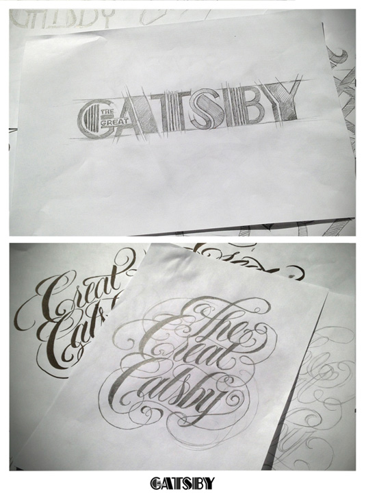 Great Gatsby typography