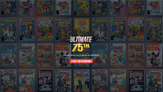 Ultimate 75th website